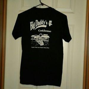 Vintage Shirts - Vintage single stitch big daddys cookhouse tshirt